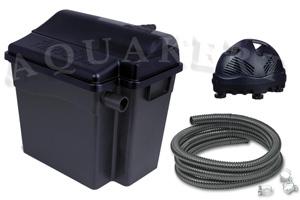 Aquakert Webáruház - UBBINK FiltraClear Set átfolyó tószűrő + UV-C + szivattyú