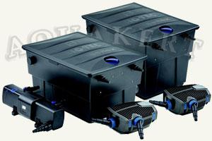 Kerti tó Webáruház - Biotec Screenmatic Set átfolyó tószűrő + UV-C + szivattyú
