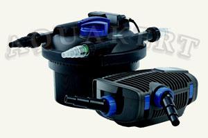 Kerti tó webáruház - OASE Filtoclear Set 3000<br>Filtoclear 3000<br>Aquamax ECO Premium 4000 nyomásszűrő + UV-C + szivattyú