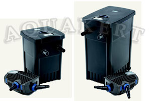 Kerti tó Webáruház - Filtomatic CWS Set átfolyó tószűrő + UV-C + szivattyú