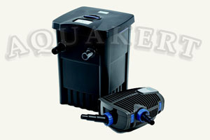 Kerti tó webáruház - OASE Filtomatic CWS Set 7000<br>Filtomatic CWS 7000<br> Aquamax ECO Premium 4000 átfolyó tószűrő + UV-C + szivattyú
