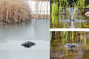 Kerti tó Webáruház - Befagyásgátló szivattyús