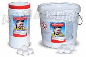 Kerti tó webáruház - BRILLANT POOL Mini klórtabletta fertőtlenítő