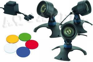 Kerti tó webáruház - OASE Lunaqua 3 Set 3 vízalatti világítás