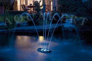 Kerti tó webáruház - OASE Water Starlet úszó vizijáték