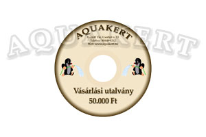 Kerti tó webáruház - AQUAKERT Vásárlási utalvány