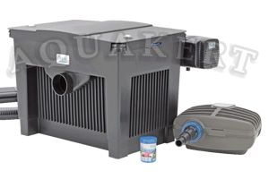 Kertitó Webáruház - OASE Biosmart Set átfolyó tószűrő + UV-C + szivattyú 1