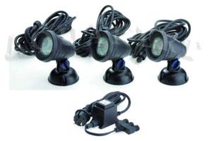 Lunaqua Classic LED Set 3 vízalatti világítás