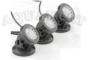 Pondostar LED Set 3 vízalatti világítás