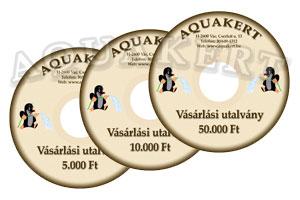 Kertitó Webáruház - AQUAKERT Vásárlási utalvány  1